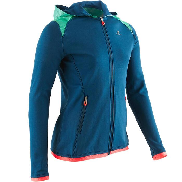 Chaqueta con capucha S900 Gimnasia niña azul