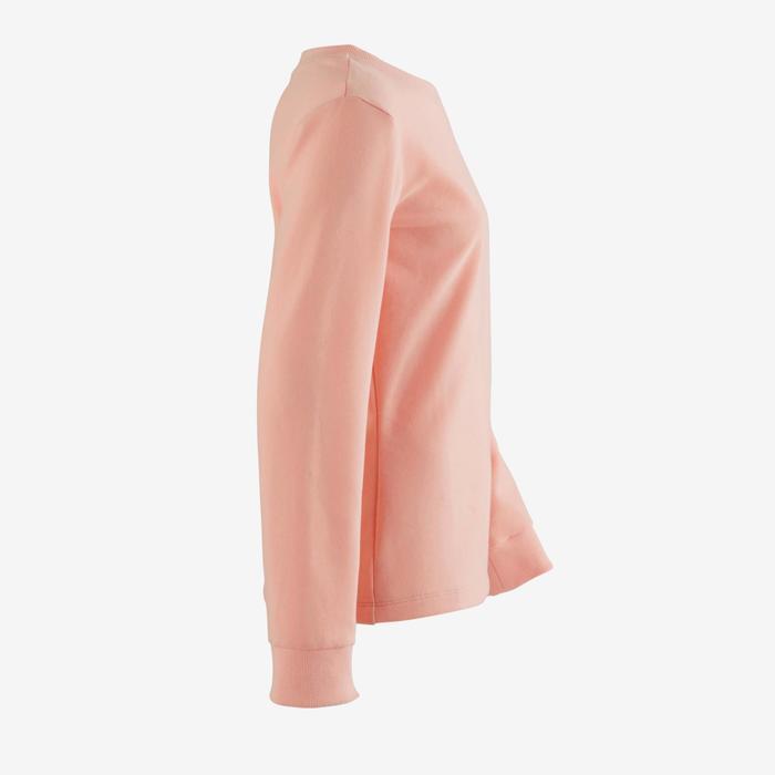 Warme sweater voor meisjes, voor gym, roze