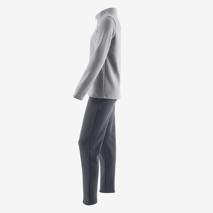 Survêtement chaud zippé imprimé Gym fille Warm'y Zip - 1502396