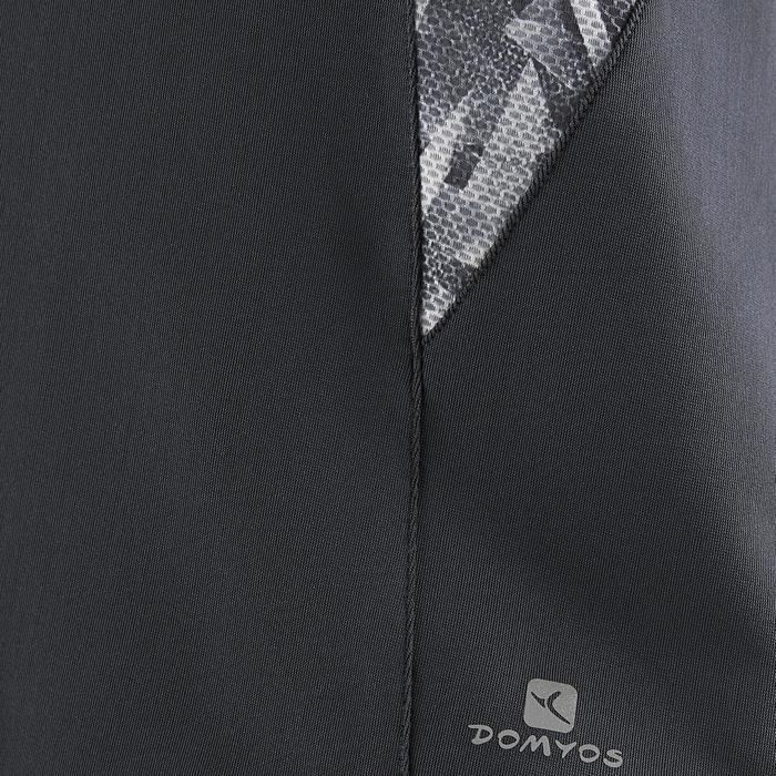 Débardeur S900 Gym Fille imprimé gris