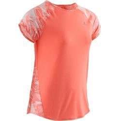 Gym T-shirt met korte mouwen S900 voor meisjes