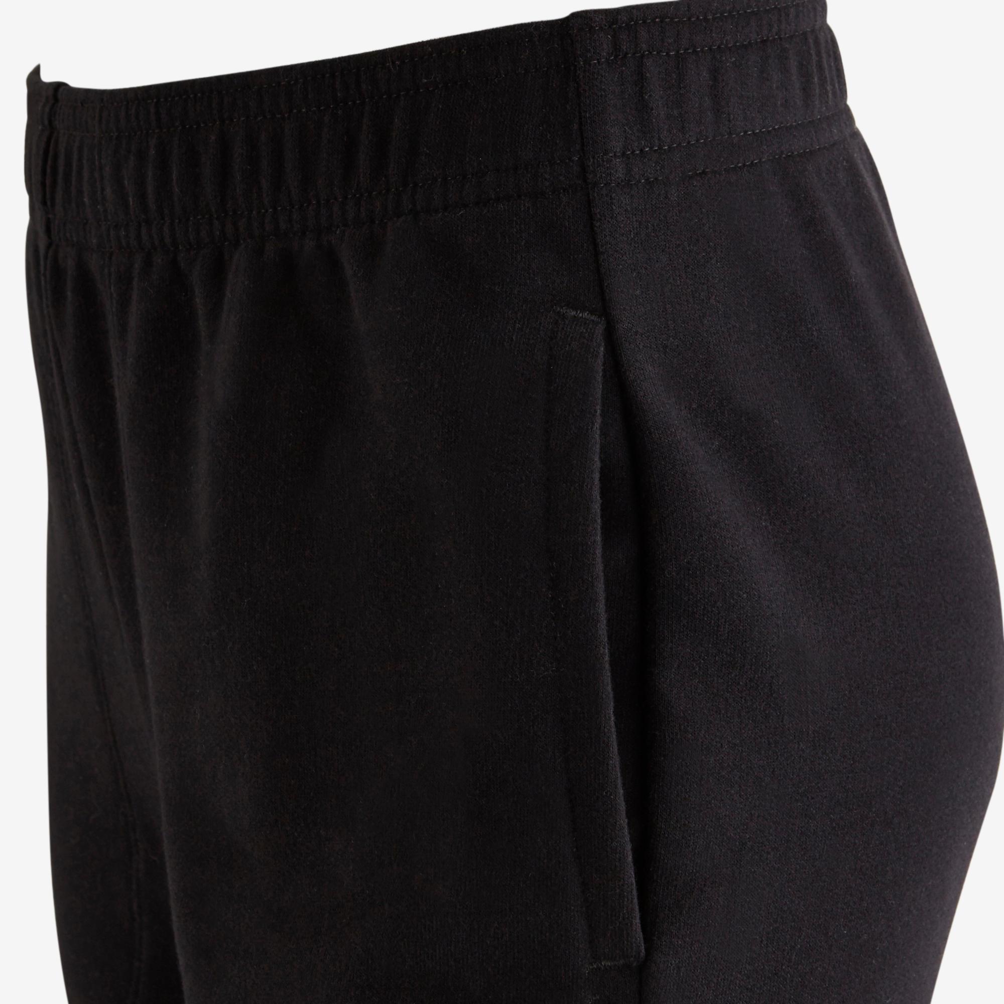 100 Girls' Gym Bottoms - Black