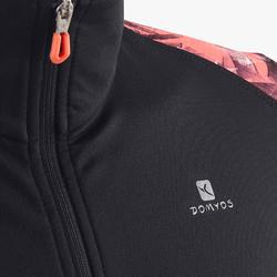S900 Girls' Gym Jacket - Black Print