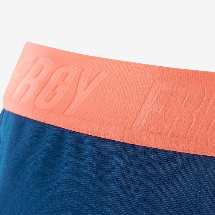 Pantalón slim S900 Gimnasia niña azul