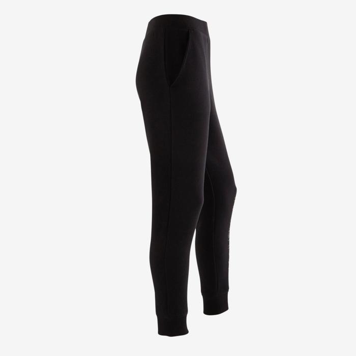 Pantalon molleton 500 Gym fille imprimé - 1502443