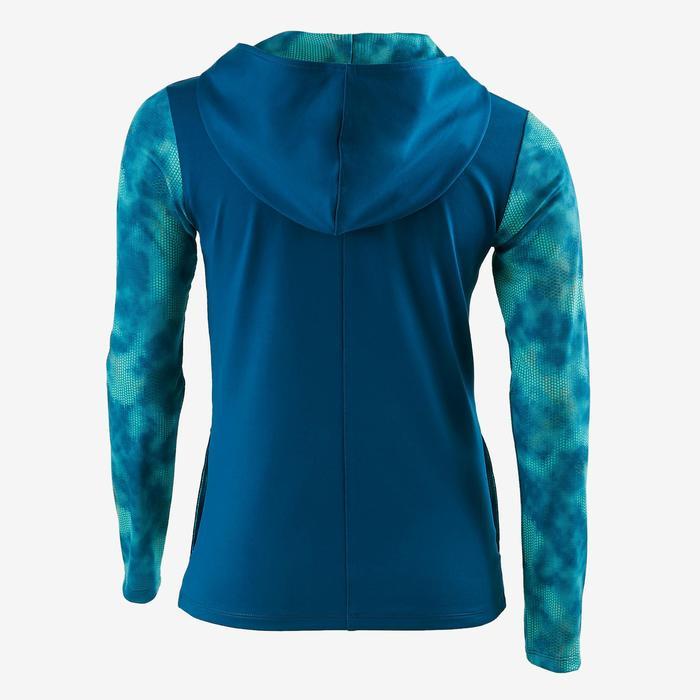 Veste zippée capuche Gym Energy fille - 1502461