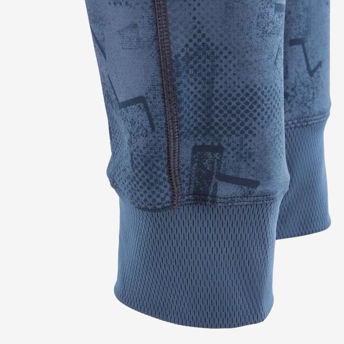 Pantalon S900 Gym garçon imprimé bleu foncé - 1502484