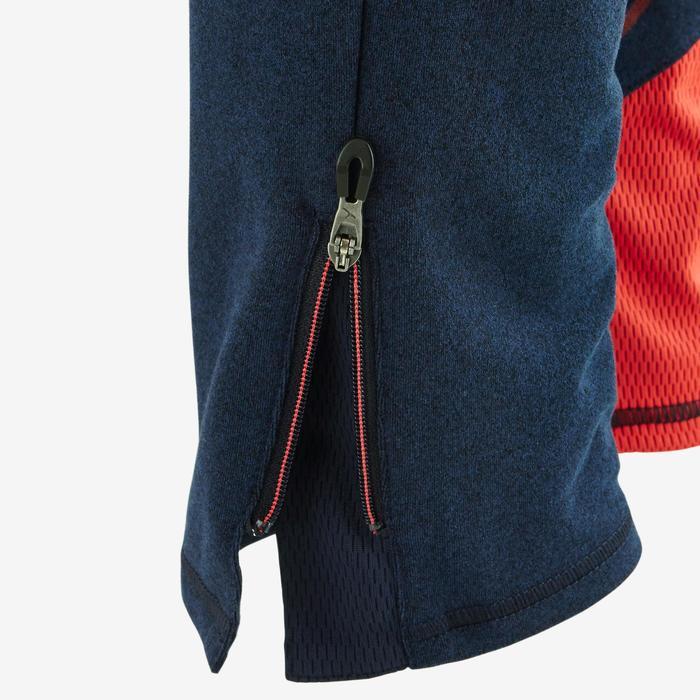 Pantalon 980 chaud slim Gym garçon poches imprimé marine - 1502498