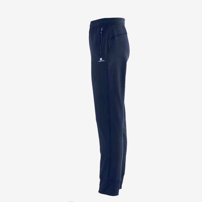Pantalon S900 Gym garçon imprimé bleu foncé - 1502503