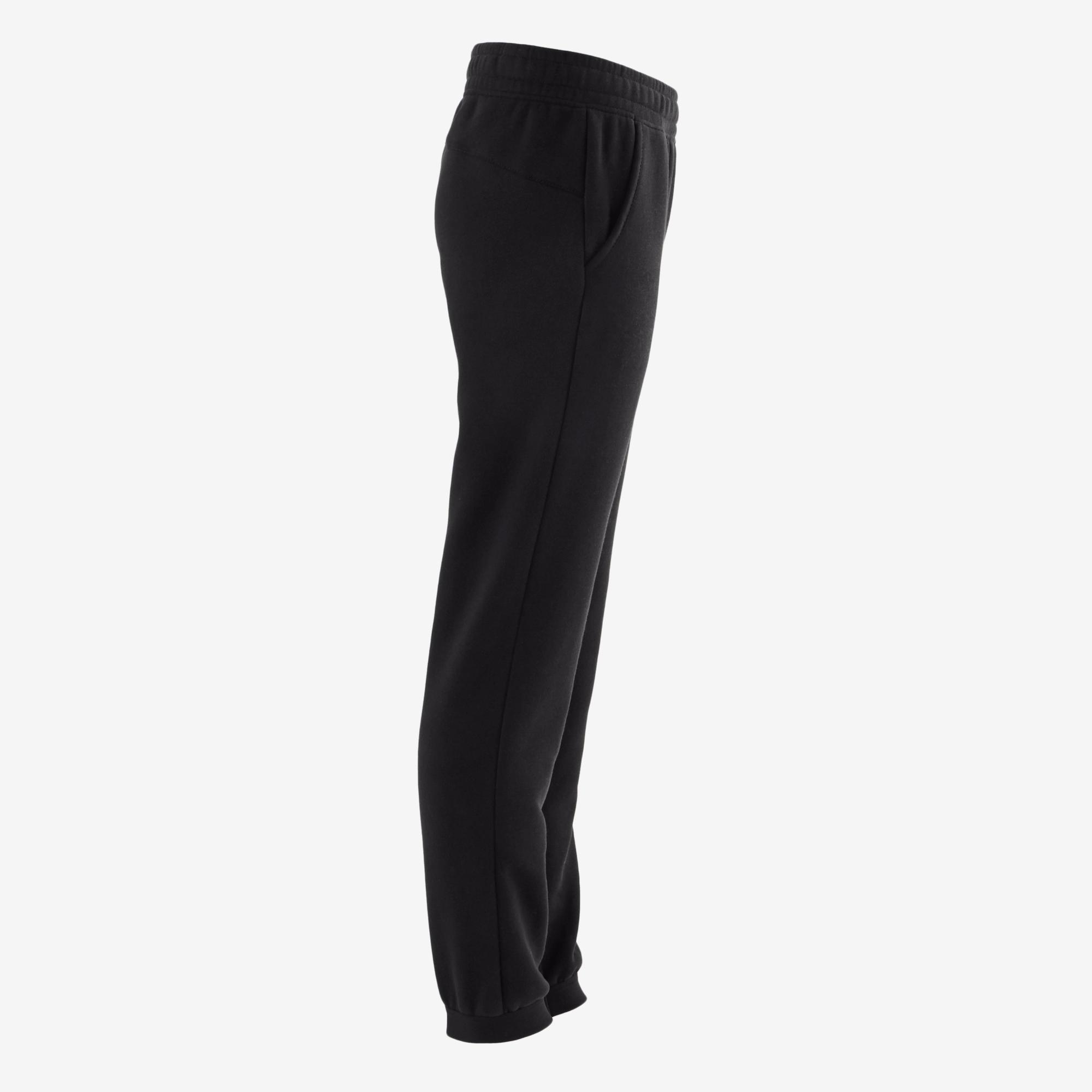 500 Boys' Fleece Gym Bottoms - Black