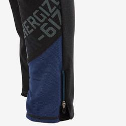 Trainingshose Slim S900 Gym Kinder grau/blau
