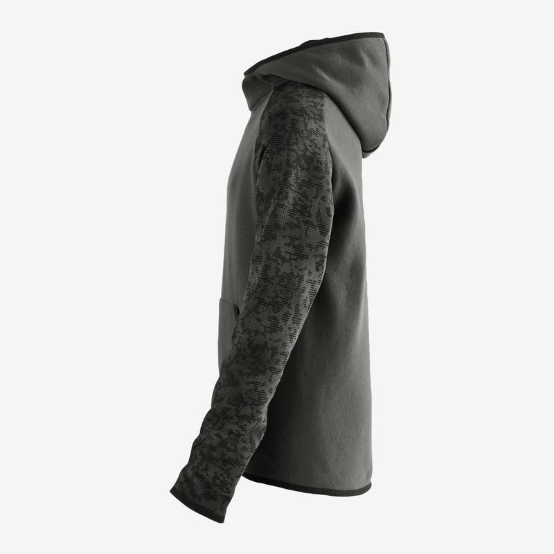 500 Boys' Jersey Gym Sweatshirt - Grey
