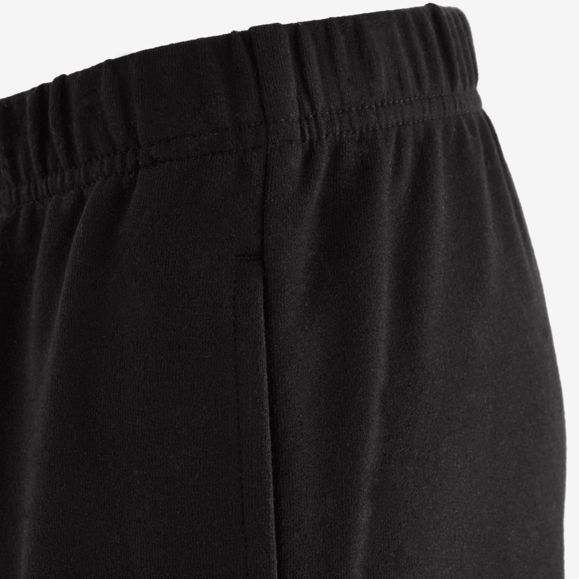 100 Boys' Gym Bottoms - Black