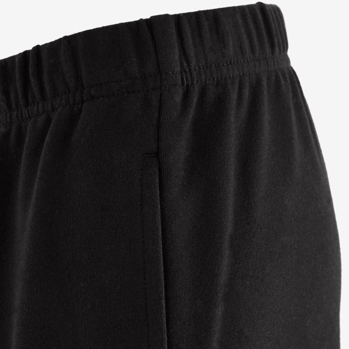 Pantalon 100 Gym garçon noir