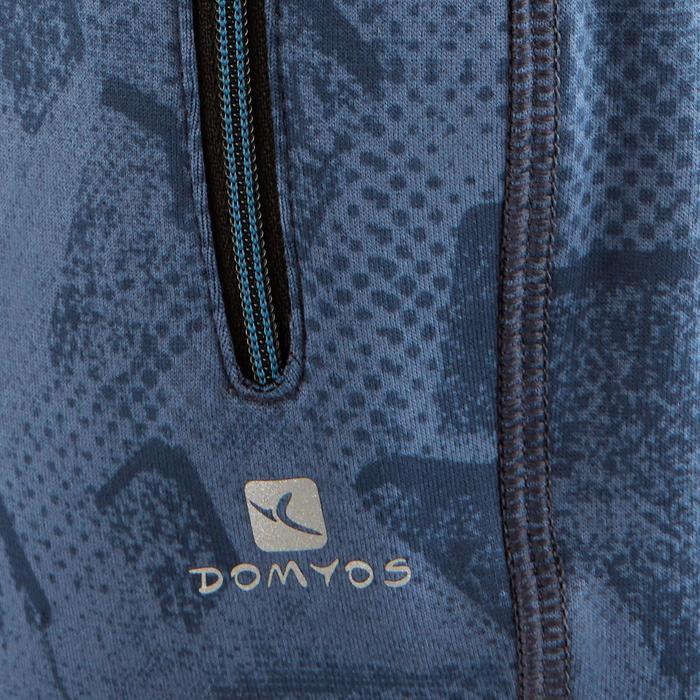 Gymbroek S900 voor jongens print donkerblauw