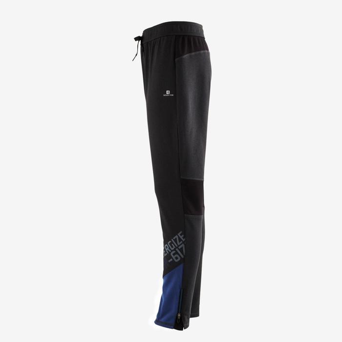 Pantalon 980 chaud slim Gym garçon poches imprimé marine - 1502551