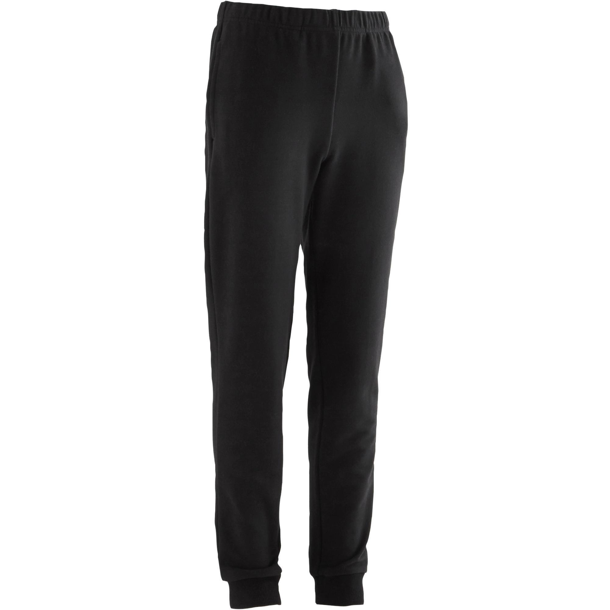 Pantalón 100 gimnasia negro niño  d37e940ee1c6