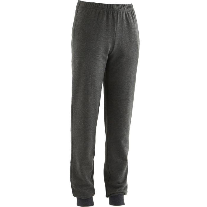 男童健身長褲100 - 灰色