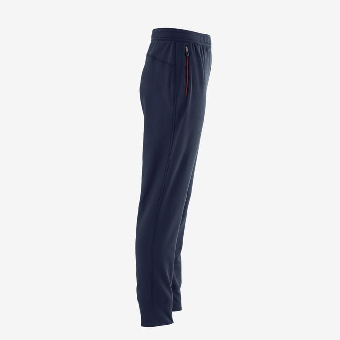 Pantalon S900 Gym garçon imprimé bleu foncé - 1502590