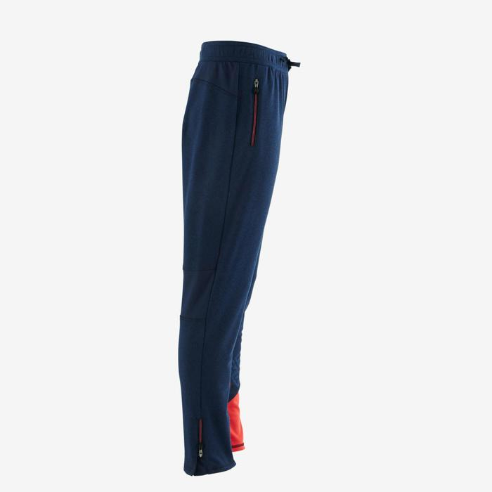 Pantalon 980 chaud slim Gym garçon poches imprimé marine - 1502606