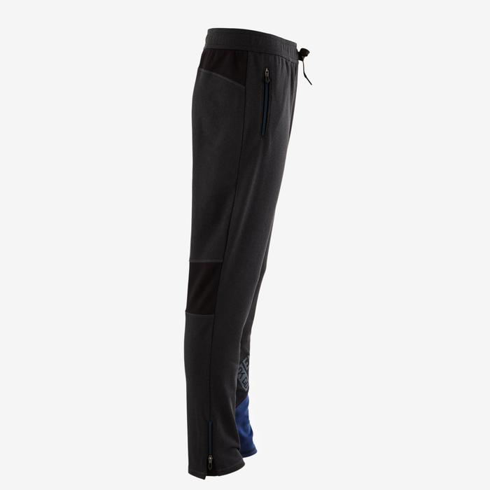 Pantalon slim S900 Gym garçon gris bleu