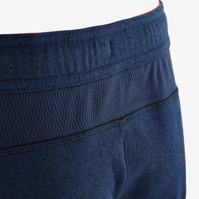 Pantalon slim S900 Gym garçon bleu rouge