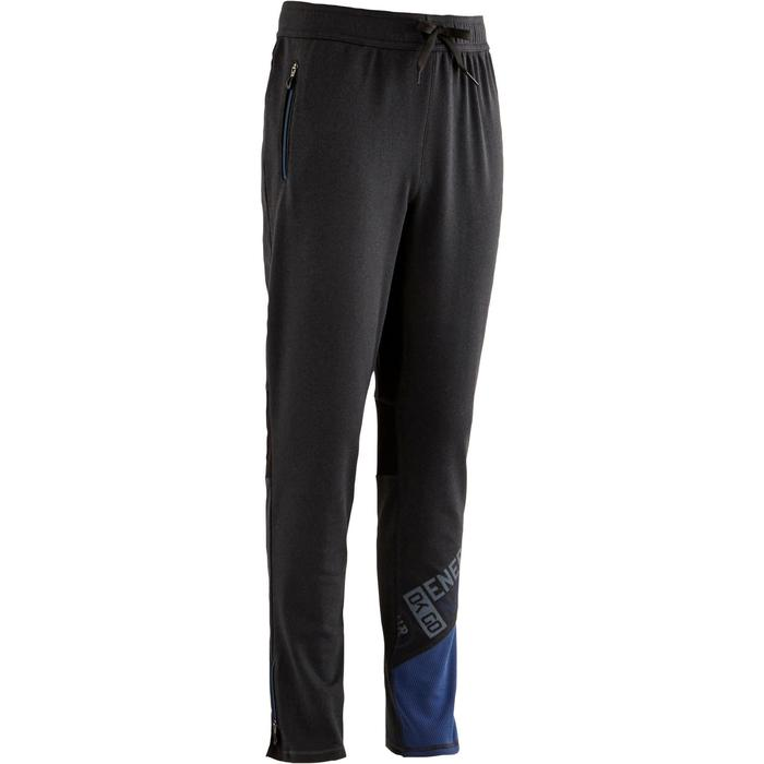 Pantalon 980 chaud slim Gym garçon poches imprimé marine - 1502621