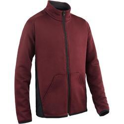 Gym hoodie met rits S500 voor jongens
