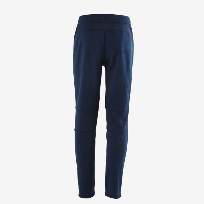 Pantalon 980 chaud slim Gym garçon poches imprimé marine - 1502635