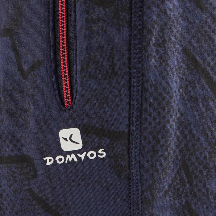 Gymbroek S900 voor jongens print blauw