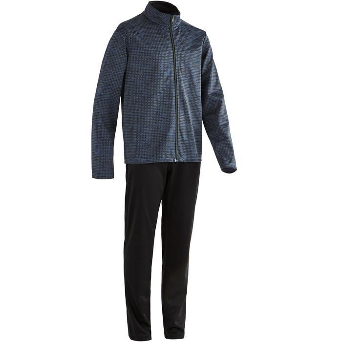 Trainingsanzug S500 Gym'Y Gym Kinder schwarz