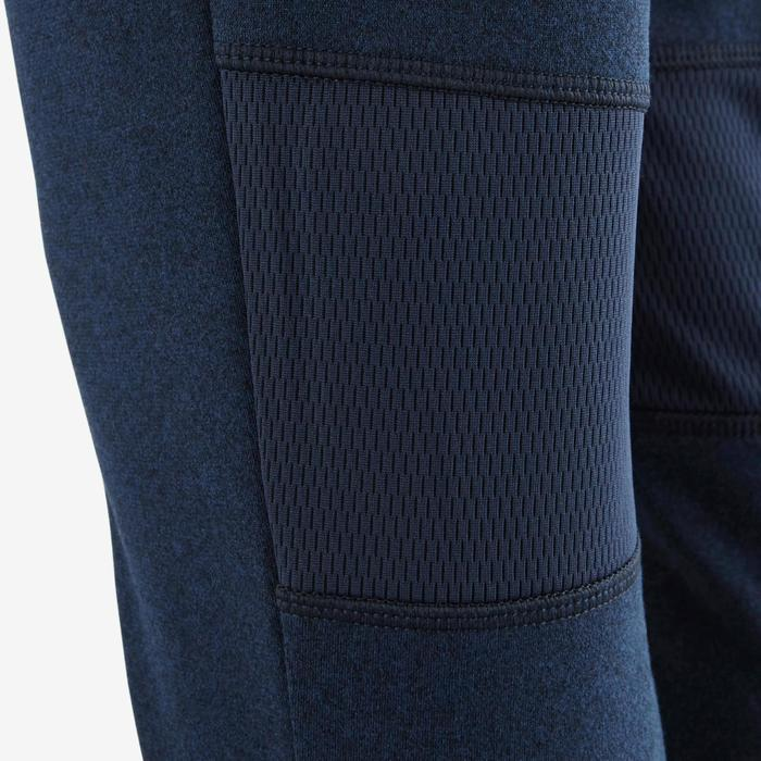 Pantalon 980 chaud slim Gym garçon poches imprimé marine - 1502684