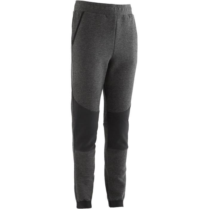 Pantalon spacer 500 Gym garçon gris