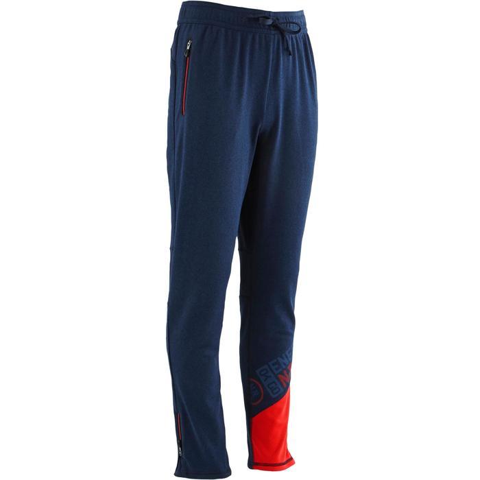 Pantalon 980 chaud slim Gym garçon poches imprimé marine - 1502716