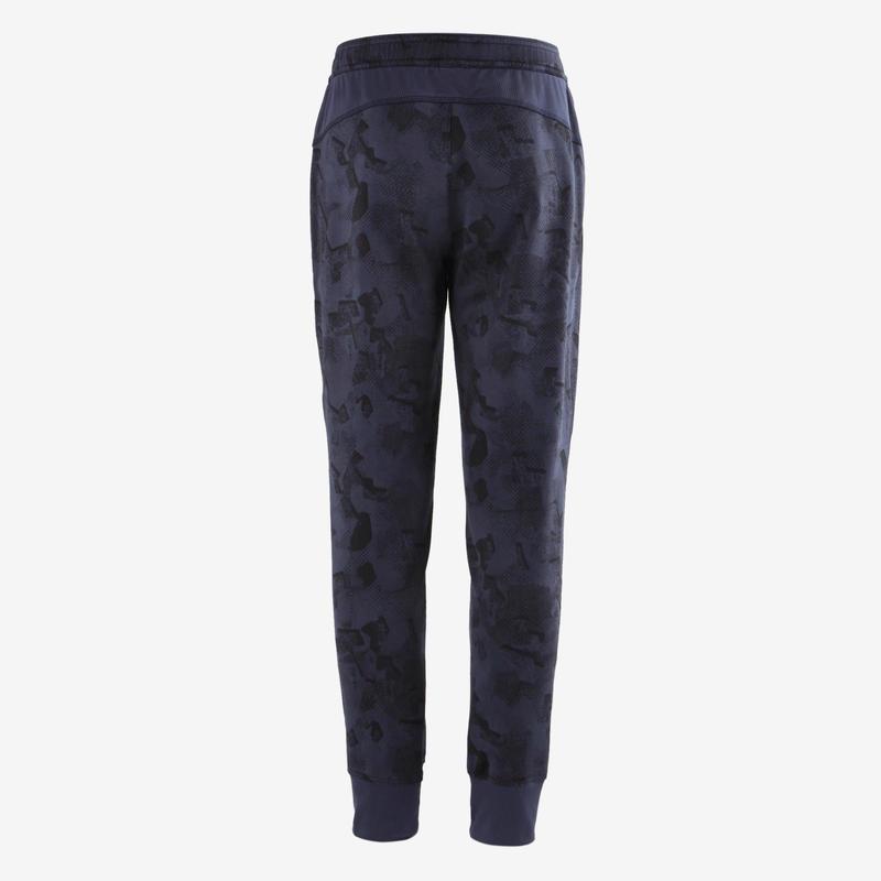 Pantalon S900 Gym garçon imprimé bleu