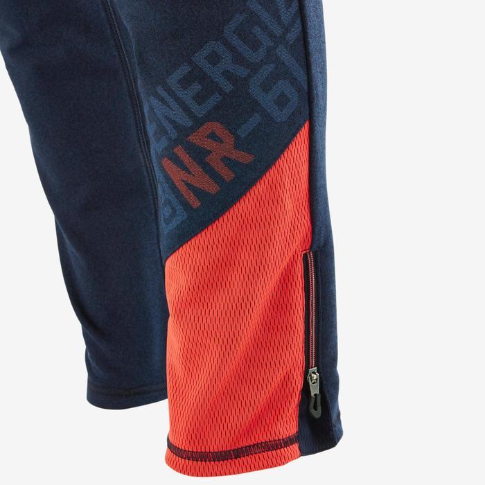 Pantalon 980 chaud slim Gym garçon poches imprimé marine - 1502727