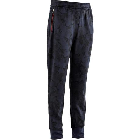 Pantalon S900 Gym garçon imprimé bleu  6dcf0bf0a97