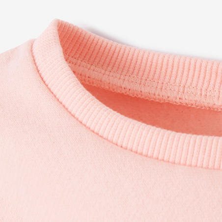 100 Baby Gym Sweatshirt - Pink
