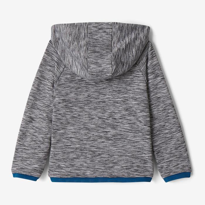 Veste capuche S500 Baby Gym gris foncé