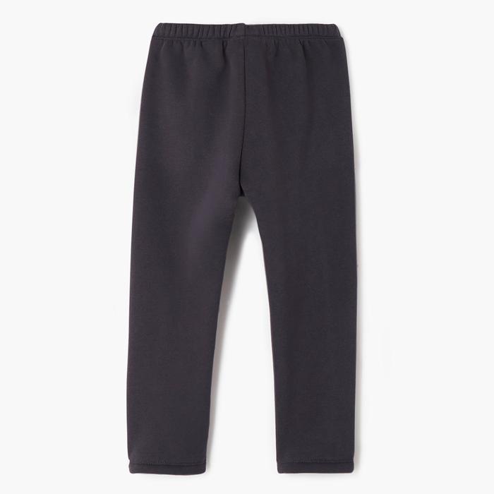 Joggingpak Warm'y zip 100 voor kleutergym blauw