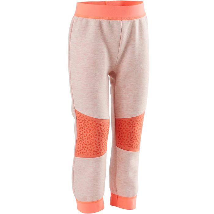 Pantalon baby gym 500 Rose/Orangé