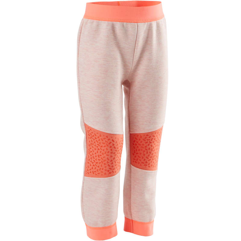 BABY GYM APPAREL Clothing - 500 Bottoms - Pink/Orange DOMYOS - Bottoms