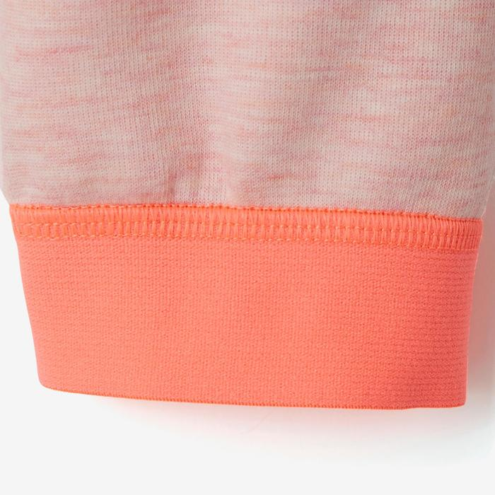 Jogginghose 500 Babyturnen rosa/orange