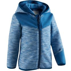 Veste spacer capuche 500 Baby Gym bleu