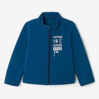 Survêtement Warm'y glissière gymnastique bébé 100 Bleu