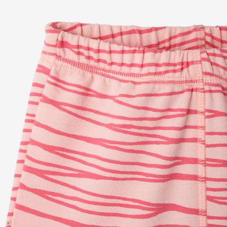 Pantalón gimnasia infantil 120 rosa