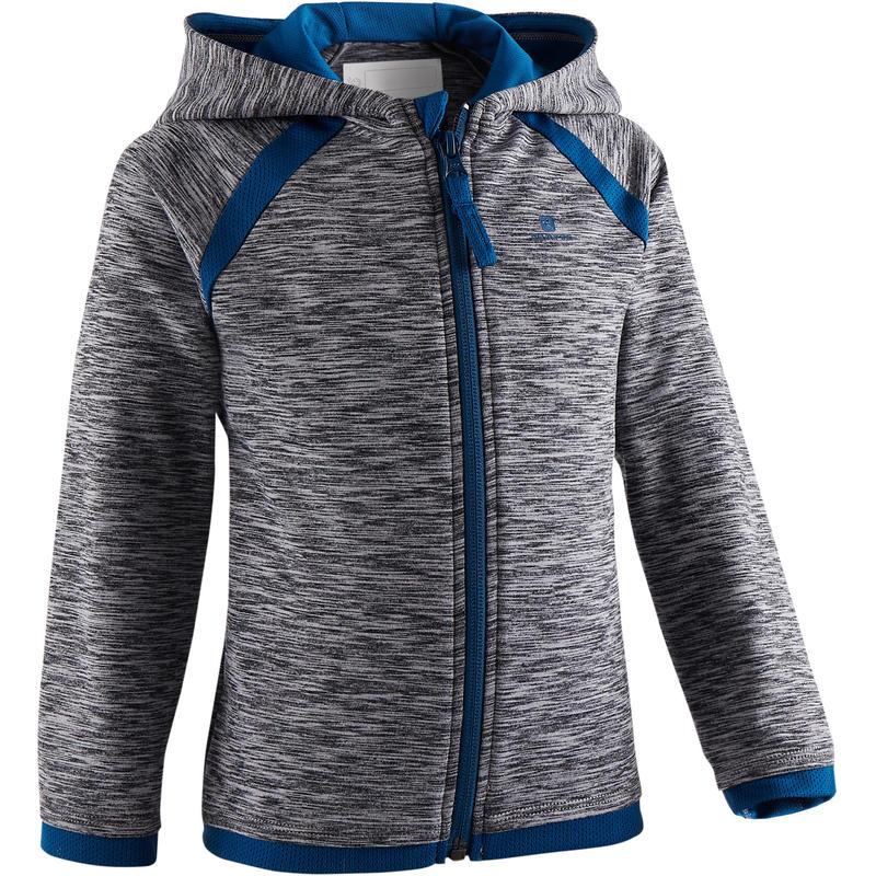 Veste baby gym S500 Gris foncé/Bleu
