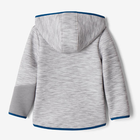 500 Baby Gym Jacket - Grey/Blue