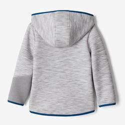 Chaqueta Gimnasia Infantil 500 Gris/Azul