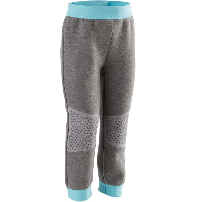 500 Spacer Baby Gym Bottoms - Grey/Pink - 1502845